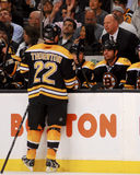 Shawn Thornton, Boston Bruins Imagem de Stock