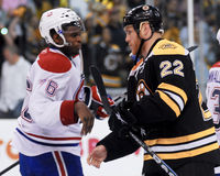 Shawn Thornton, Boston Bruins Lizenzfreies Stockfoto