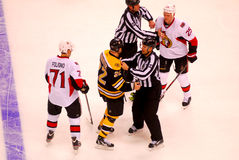 Shawn Thornton and Chris Neil (NHL Hockey) Royalty Free Stock Image