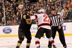Shawn Thornton v. Krystofer Barch Stock Photography