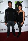 Shawna, Lorenzo Lamas. Lorenzo Lamas and Shawna Craig   at the Wicked Los Angeles Opening Night, Pantages, Hollywood, CA 12-01-11 Royalty Free Stock Photo