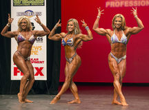 Shawna Pringle, Juliana Malacarne, and Fabiola Boulanger Stock Photos