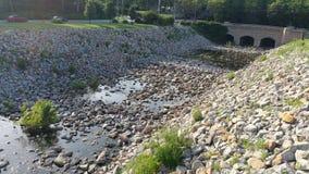 Shawnee lake creek stock photo