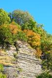 Shawnee lasu państwowego blefy zdjęcie stock