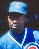 Shawon Dunston, Chicago Cubs royalty free stock photos