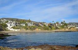 Shaws Cove, Laguna Beach, California. Royalty Free Stock Photography
