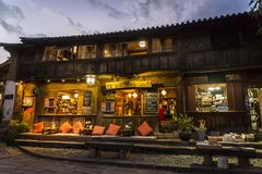 Shaxi, cidade histórica do mercado, Yunnan, China fotos de stock royalty free