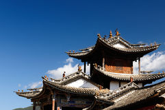 Shaxi village in China Royalty Free Stock Photo