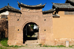 Shaxi village in China Stock Image