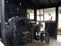 Shay Engine Cab no museu da estrada de ferro Imagens de Stock