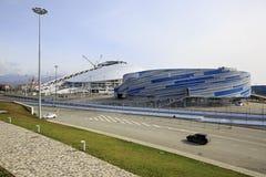 Shayba Arena and Fisht Olympic Stadium Royalty Free Stock Image