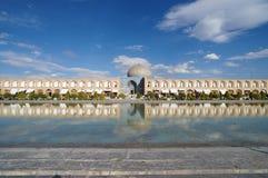 Shaykh Lotfollah清真寺在伊斯法罕,伊朗 库存照片