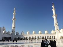 Shaykh Zayed Mosque Royalty Free Stock Image
