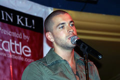 Shayne Thomas Ward Stock Photo
