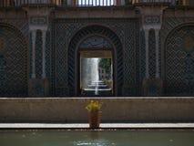 Shazdeh ogródu wejście Zdjęcie Royalty Free