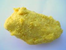 Shea Butter amarillo crudo Imágenes de archivo libres de regalías