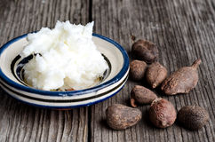 Free Shea Butter And Shea Nuts Royalty Free Stock Photos - 27319968
