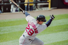 Shea Hillenbrand, Boston Red Sox Imagem de Stock