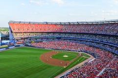 Shea Stadium - het Spoelen, Queens royalty-vrije stock fotografie