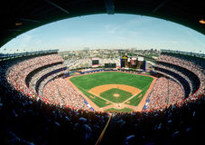 Shea Stadium. Home of the New York Mets. (image taken from color slide Royalty Free Stock Photo