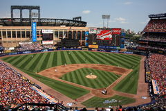 Shea Stadium - New York Mets Royalty Free Stock Photos