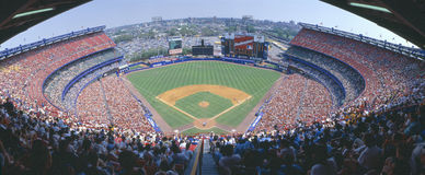 Shea Stadium, NY Mets v. SF Giants, New York Royalty Free Stock Photography