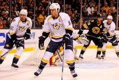 Shea Weber Nashville Predators. Nashville Predators captain Shea Weber #6 Royalty Free Stock Images