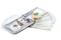 Sheaf των χρημάτων Στοκ φωτογραφία με δικαίωμα ελεύθερης χρήσης
