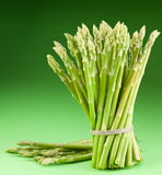 Sheaf of asparagus. Royalty Free Stock Image
