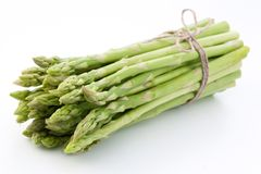 Sheaf of asparagus. Stock Images