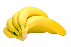 Sheaf of bananas Royalty Free Stock Photos