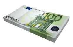 Sheaf of euro royalty free stock photo