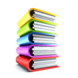 Sheaf office folders Royalty Free Stock Image