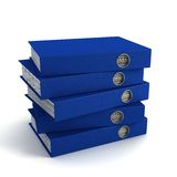 Sheaf office folders Stock Images