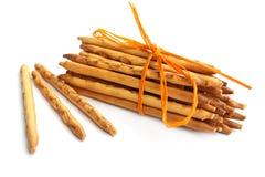 Sheaf of pretzels ( breadsticks ) Stock Photo