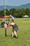 Sheaf Toss – Highland Games, Salem, VA Royalty Free Stock Images