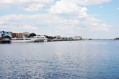 Sheapshead海湾纽约 免版税库存照片