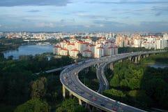 sheares моста Стоковые Фото
