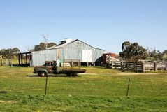 The Shearing Shed Royalty Free Stock Photography