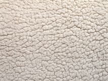 Shearling texture Royalty Free Stock Photography