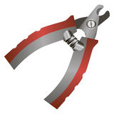 Shears clipper pet claws Royalty Free Stock Photos