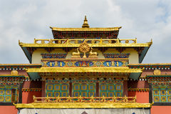 Shechen monastery in Kathmandu Royalty Free Stock Photo