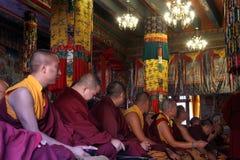 Shechen monastery Stock Image