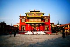 Shechen Monastery in Kathmandu, Nepal Stock Photos