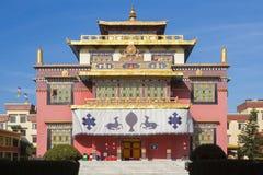 Shechenklooster in Katmandu Stock Foto's