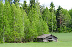 Free Shed At Meadow Edge Royalty Free Stock Image - 23741206
