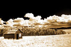 A Shed From Days Gone  Royalty Free Stock Images
