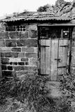 Shed door Royalty Free Stock Image