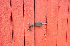 Shed door Stock Image