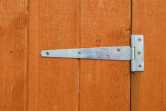 Shed door hinge Stock Photography